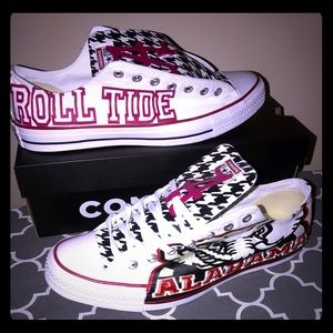 Custom Alabama Crimson Tide Chuck Taylors